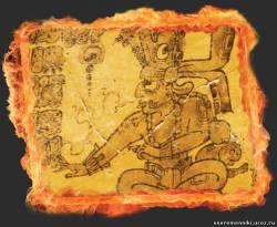 Каменное пророчество жрецов майя. Мифологические образы отражают результаты астрономических наблюдений, точность которых впечатляет и сегодня